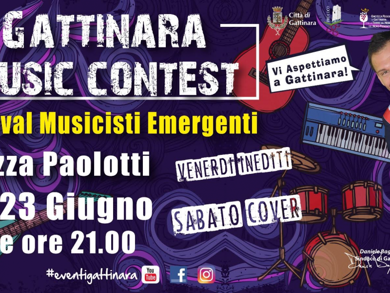 Locandina esplicativa Music Contest