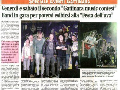 Articolo di presentazione su: Gattinara Music Contest