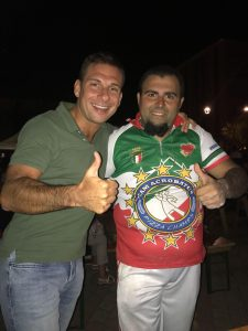 Francesco Giuliani e Daniele Baglione