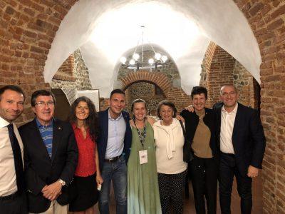 Sindaco di Gattinara, Daniele Baglione, Console del Cile, Pedro Gonzales e Vice Sindaco di Moncrivello, Luca Lisco.