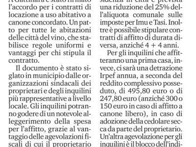 Canone Concordato: accordo raggiunto a Gattinara