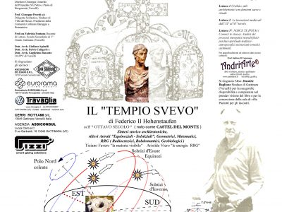 """Tiziano Favero presenta: """"IL TEMPIO SVEVO""""."""