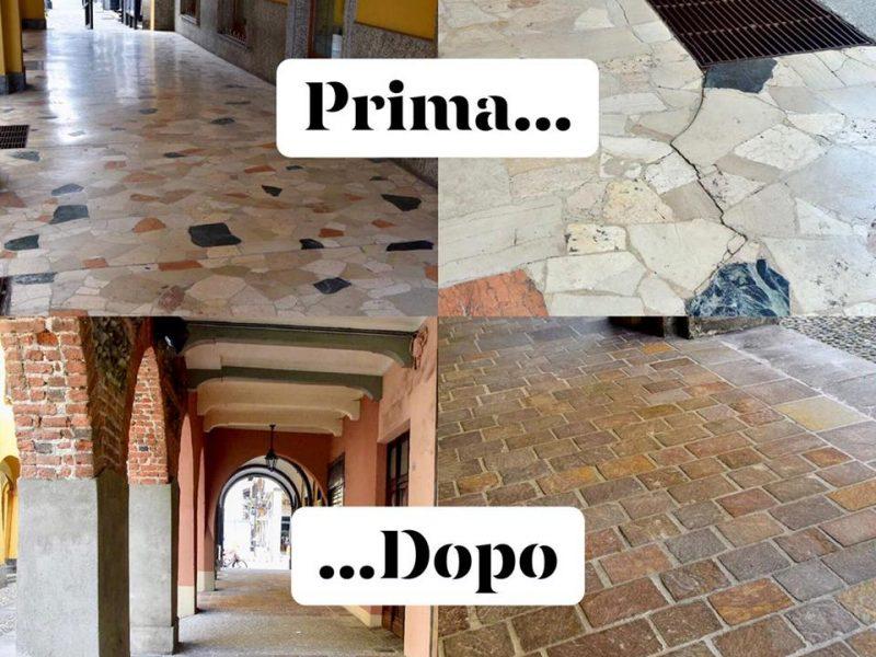 Nuovi portici a Gattinara