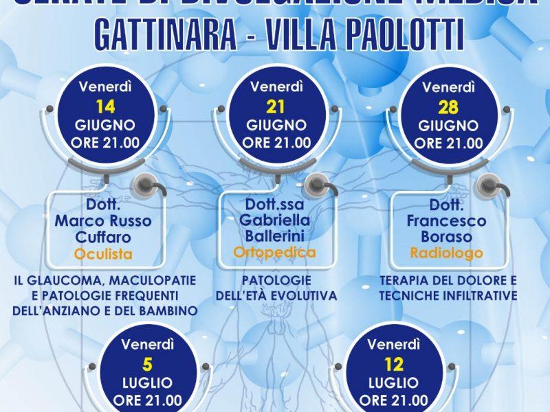 Al via un ciclo di serate di divulgazione medica a Gattinara