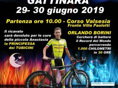 1.000 KM IN 30 ORE: ORLANDO BORINI ALLA CACCIA DEL RECORD DEL MONDO