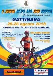 Si tenta il record del Mondo: 1000 KM in bici, in 30 ore.