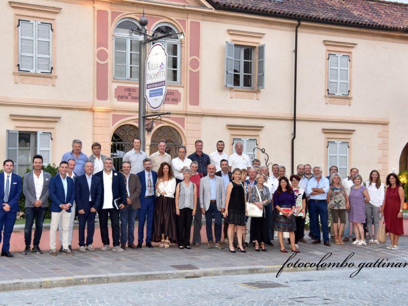 I Floricoltori Piemontesi a Gattinara per le premiazioni di Euroflora 2018