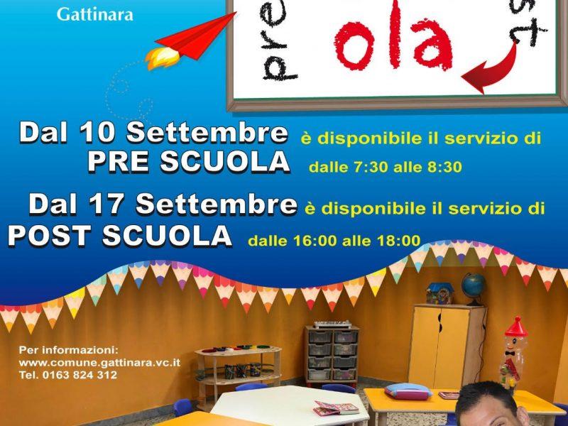 A Gattinara: il Pre e Post Scuola