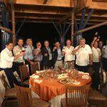 I Floricoltori Piemontesi a Gattinara per le premiazioni di Euroflora 2018 con Sindaco di Gattinara, Daniele Baglione e Assessore Regionale all'Agricoltura, Giorgio Ferrero
