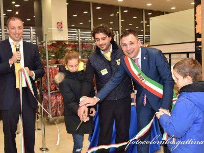 Inaugurazione del Tigros a Gattinara.