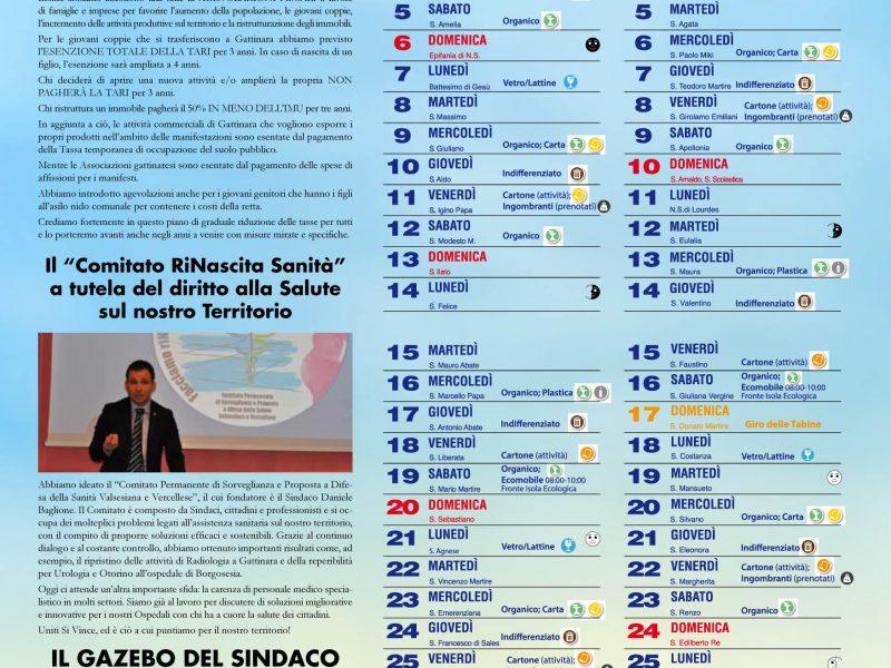 """""""il GazzettiCalendario..Differenziato 2019""""."""