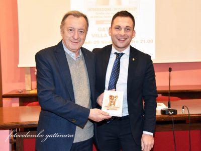 Marco Zacchera e Daniele Baglione alla presentazione del libro di Zacchera