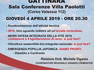 A Gattinara, serata dedicata alla viticoltura
