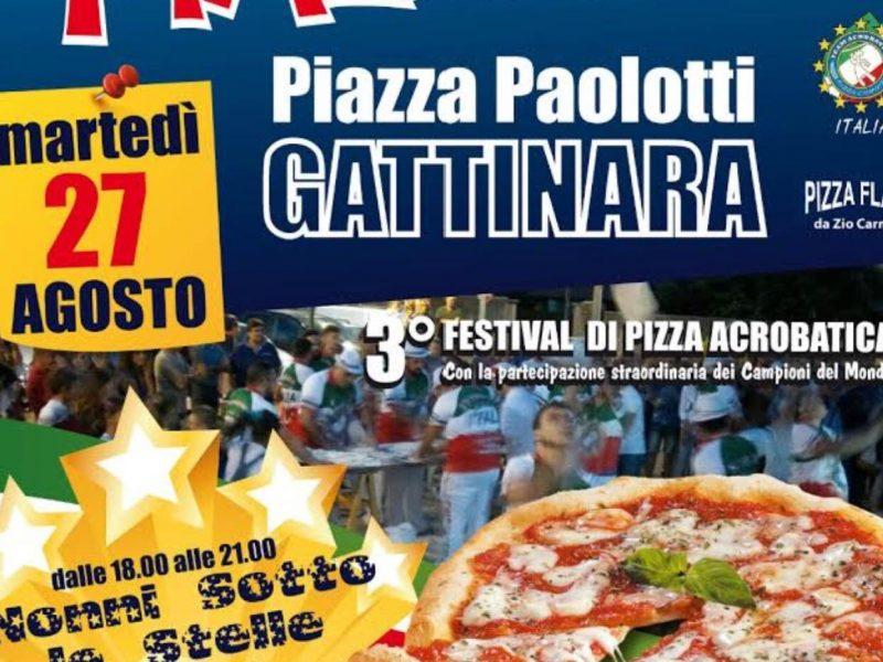 PIZZA IN PIAZZA MARTEDÌ 27 AGOSTO A GATTINARA