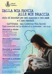 """""""Dalla mia pancia alle mie braccia"""". Ciclo di incontri dedicati alla maternità."""