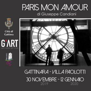 """""""PARIS MON AMOUR"""" G'ART PRESENTA LA MOSTRA DI GIUSEPPE CANDIANI"""