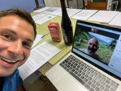 Videoconferenza tra Daniele Baglione e Michael Juergens